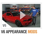 AmericanMuscle 10-14 V6 Bolt-on Build-Ups Appearance Mods