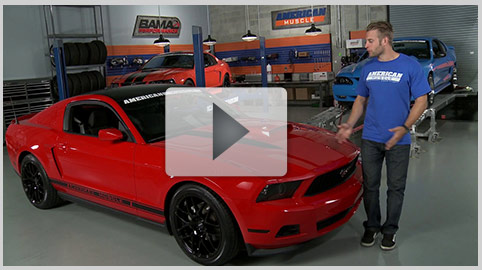 AmericanMuscle Bolt-On Build-Ups 05-09 V6 Appearance Mods