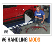 AmericanMuscle 10-14 V6 Bolt-on Build-Ups Handling Mods