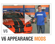 AmericanMuscle 99-04 V6 Bolt-on Build-Ups Appearance Mods