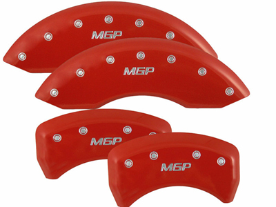 Mustang Red Brake Caliper Covers