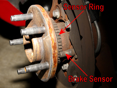 Mustang Brake Sensor and Speed Ring