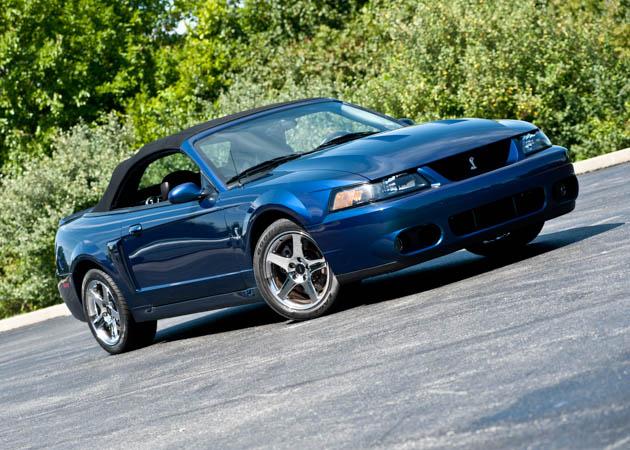 1999-2004 SVT Cobra Mystachrome Convertible Mustang