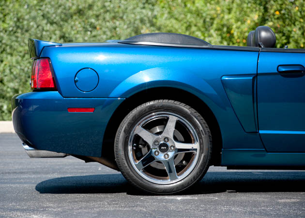 1999-2004 Mystachrome Mustang Rear End