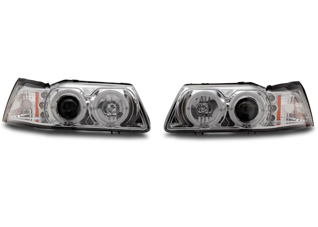 New Edge Mustang Projector Lights
