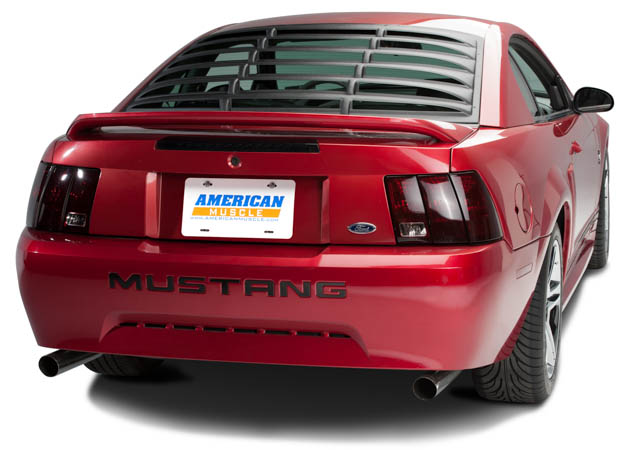1999-2004 Mustang with Rear Window ABS Louvers