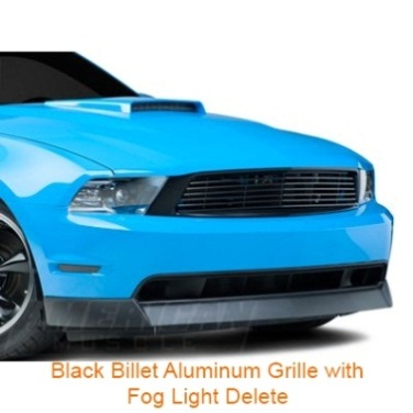 Black Billet Grille Without Fog Lamps