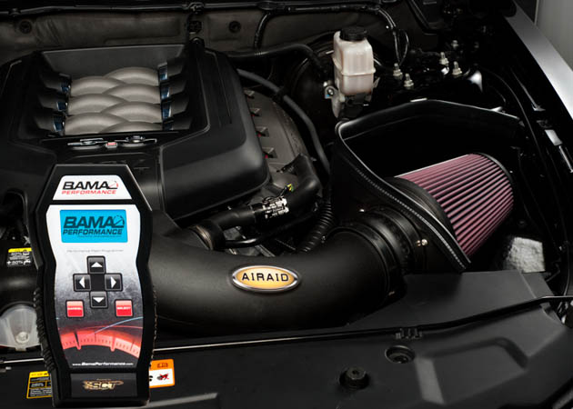 Bama Tuner with an Airaid Intake
