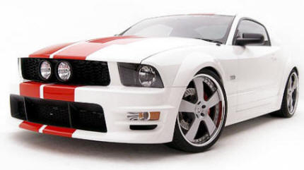 Mustang GT With Full Body Kit