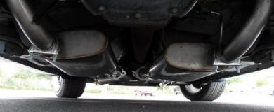 True Dual Exhaust - 1999-2004 Mustang V6