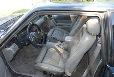 Restored 1991 Mustang GT Interior