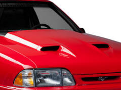 Mach 1 Fox Body Mustang Hood