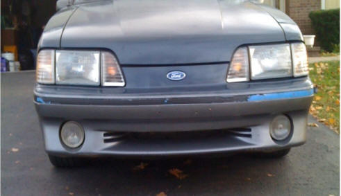 Stock Fox Body GT Front End Grille