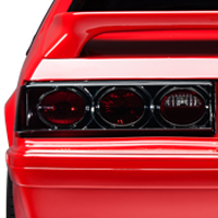 Smoked Altezza Fox Body Tail Lights