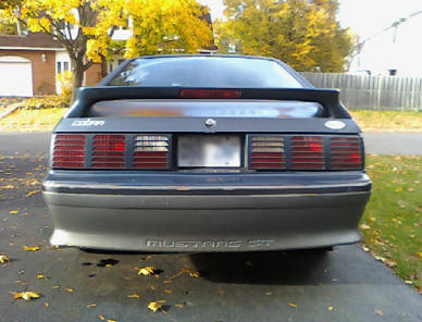 GT Fox Body Mustang Tail Lights