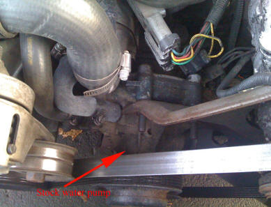 Location Of Fox Body Mustang Water Pump