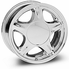 Chrome Fox Body Pony Wheel