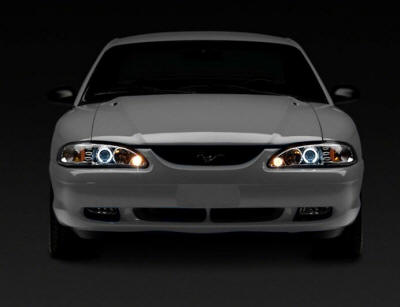 Chrome 1 Piece Projector Headlights