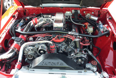 Foxbody Engine Bay