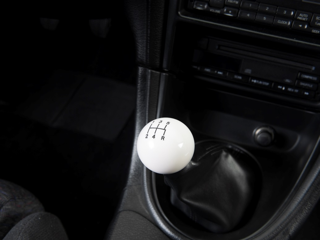 White Mustang Shift Knob