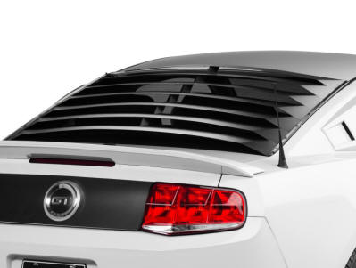 Aluminum Mustang Rear Window Louvers