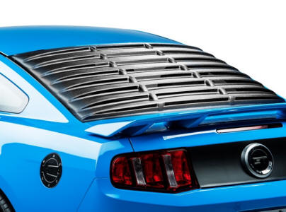 ABS Mustang Rear Window Louvers