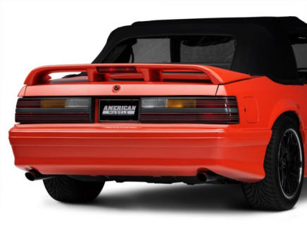 Fox Body With Cobra Tail Lights