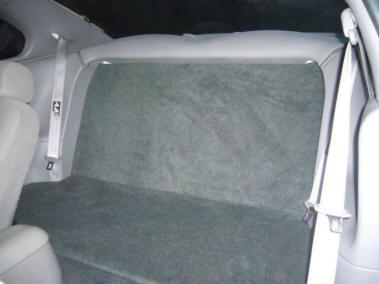 Mustang Rear Seat Delete