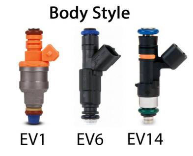 Types of Fuel Injector Body Styles