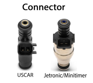 Mustang Fuel Injector Connection Types