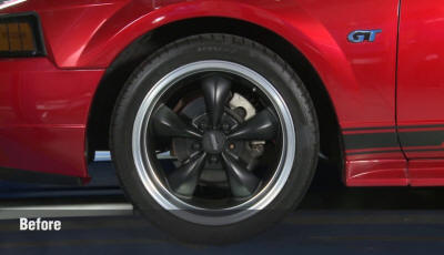 SN95 Mustang Without Lowering Springs