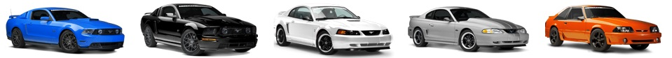 5 Mustang Models