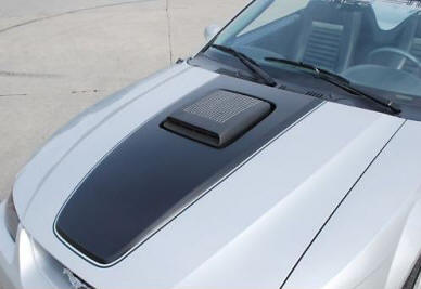 Mustang with Shaker Intakes