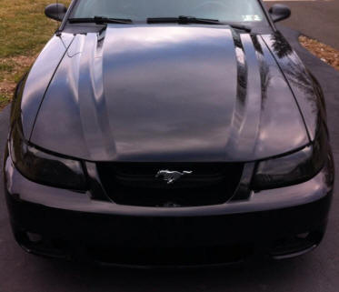 1999-2004 Mustang with a Cowl Hood