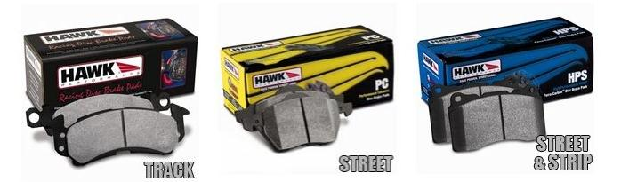 Hawks Performance Brake Pads - Ford Mustangs