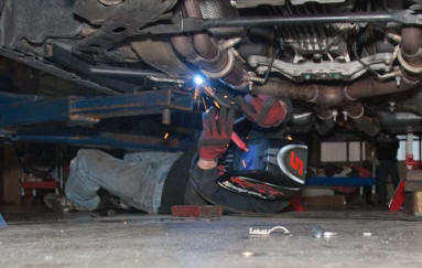 Welding Full Length Subframes