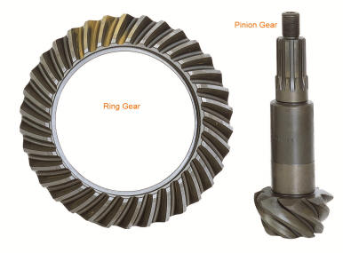 S197 Ford Mustang Ring & Pinion Gears