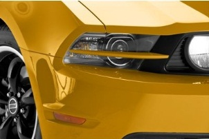 Ford Mustang Headlight Splitters