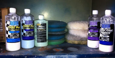 Mustang Waxing Products