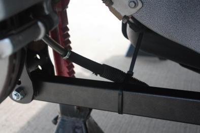 On-Car Shot - Rear lower Control Arm