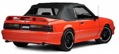 Convertible Fox Body Mustang