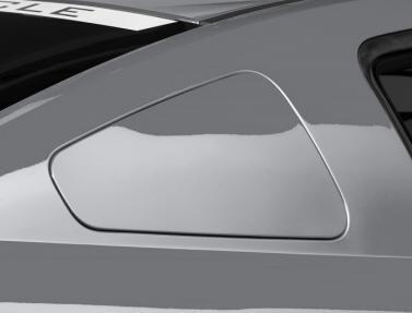 GT350 Mustang Quarter Window Cover