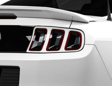Mustang Color Matching Tail Light Trim