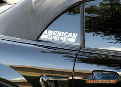 Mustang Window Decal