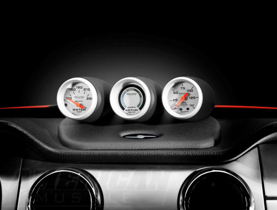 Mustang 3 Gauge Pod