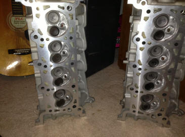 Ported 4.6L V8 Cylinder Heads