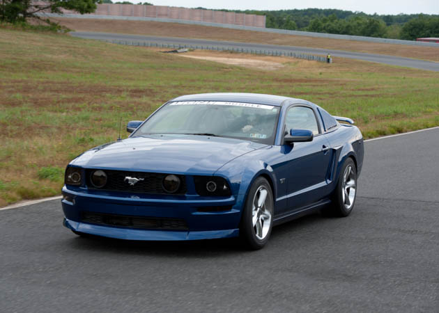 2006 Mustang GT at the Track