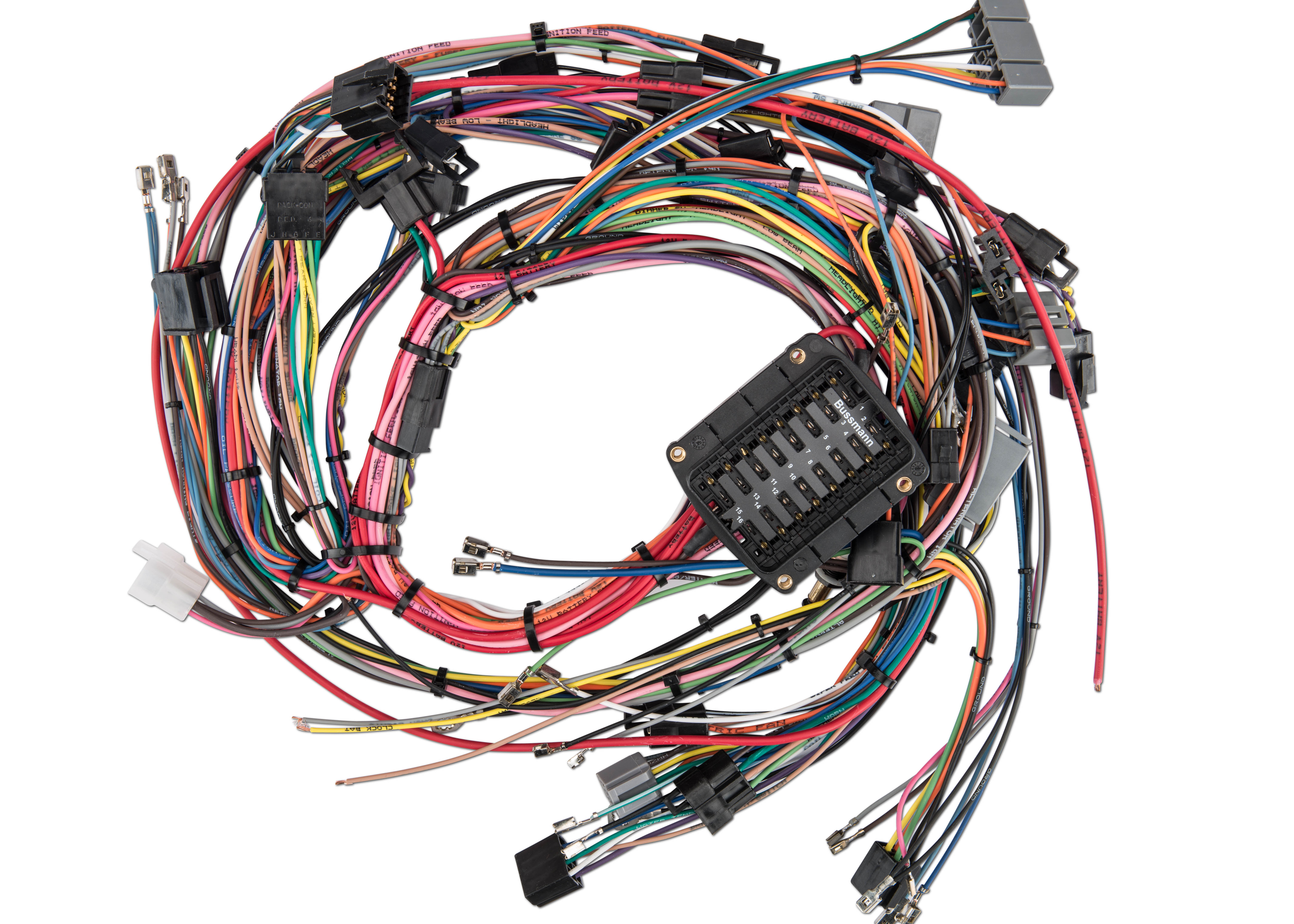 Engine Wiring Harness For Coyote Pictures To Pin On Pinterest - 1973 ford mustang wiring harness diagram