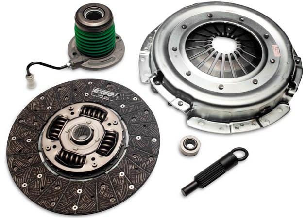 Mustang Clutch Kit with Slave Cylinder and Alignment Tool