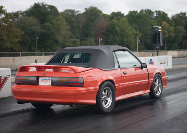 1993 Foxbody Convertible Dragster